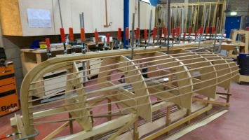 glueing-the-keel-and-stem-together